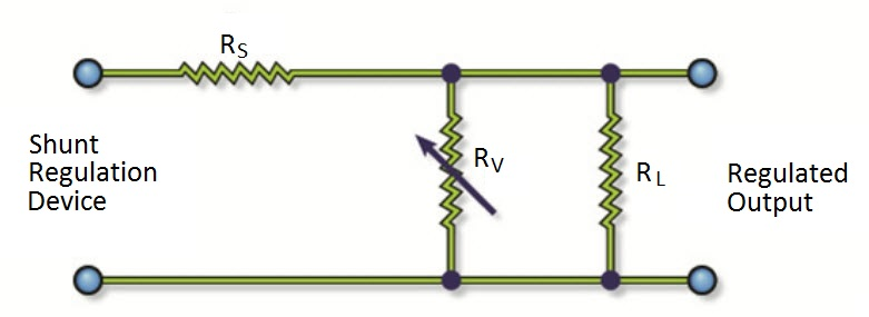 Simple Shunt Voltage Regulator