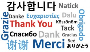 Thank You Many Languages