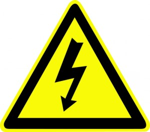 WSEA_Electrical Shock Hazard Sign 1