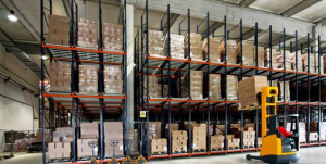 Supply Chain Services Forklift