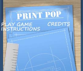 Print Pop Game