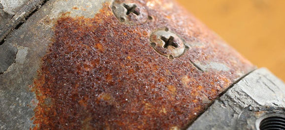 Preservation Rust Pipe