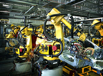 Robots Manufacturing
